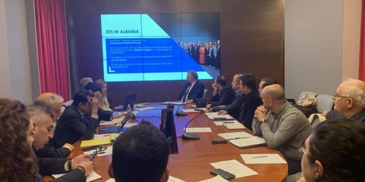 World Bank Mission in Tirana to discuss EITI priorities and vision for sustainable sectoral development