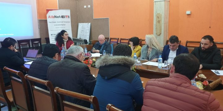 Workshop in Kukës: The community must benefit from the income of energy produced by Fierza hydropower plant.