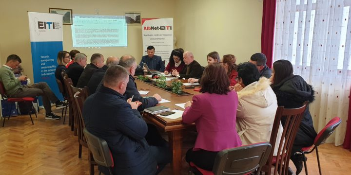 Albnet-EITI, workshop in Skrapar: The royalty to be determined based on the amount of product extracted not from the sales