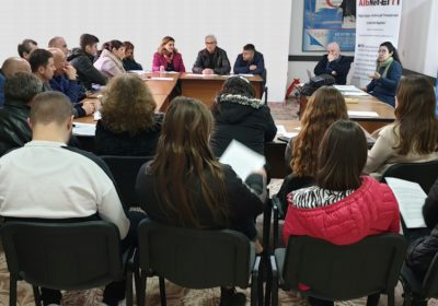 AlbNet-EITI, workshop in Fier: Transparency by local government on the use of the royalty