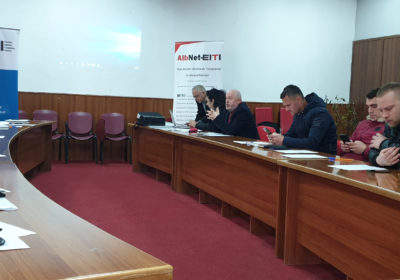 Workshop in Pogradec: EITI, an instrument for citizens to benefit from extractive resources
