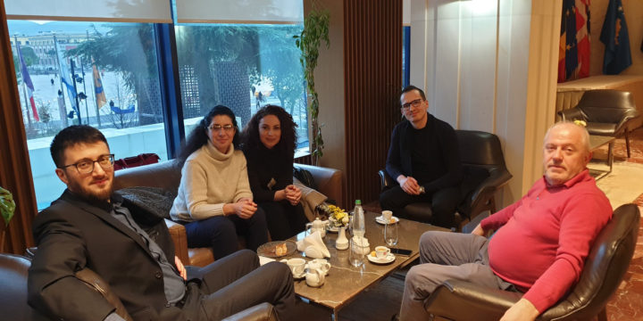Visit of PWYP Eurasia Regional Coordinator